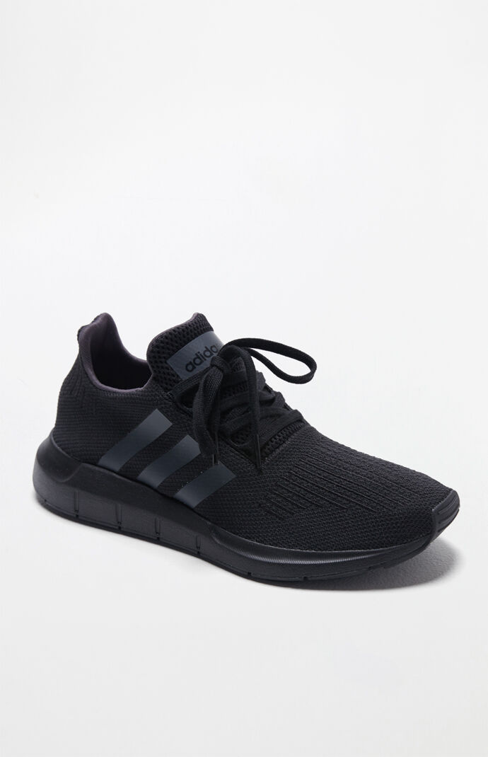 d75753f6eb6 adidas Swift Run Black Shoes at PacSun.com