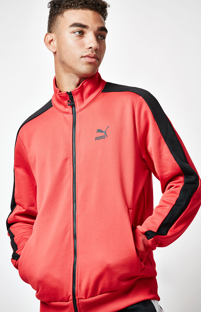 Puma Archive T7 Red Track Jacket 6518815