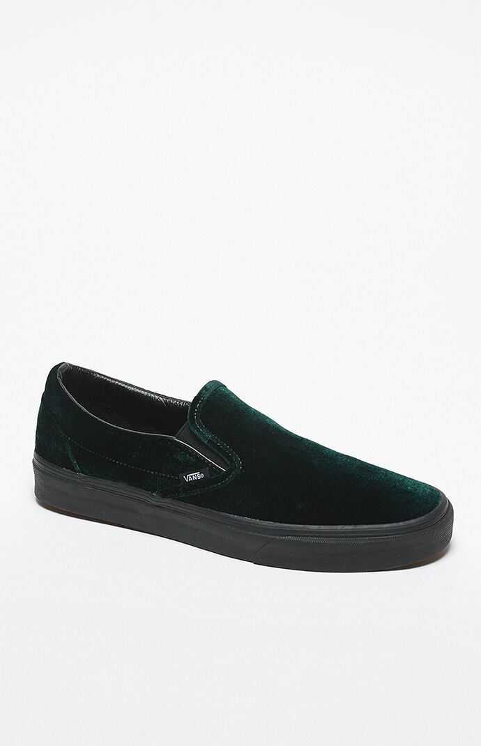 aa2a745da49 Vans Velvet Classic Slip-On Shoes at PacSun.com