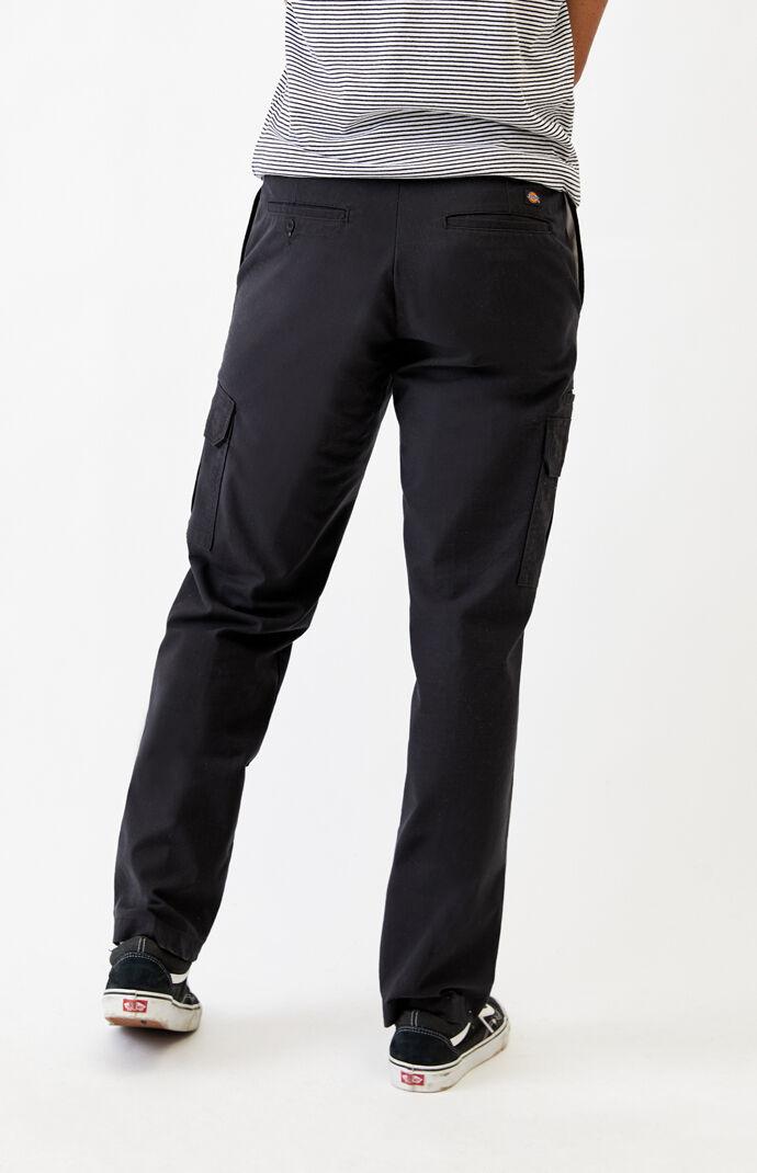 Black Tough Max Ripstop Cargo Pants