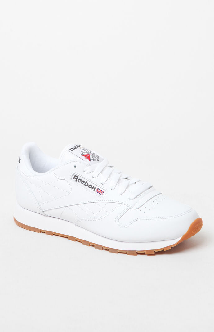 95a0ce46eb9 Product. Go to shop. 75 · reebok mens classic leather white shoes - white  gum