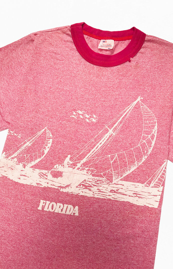 GOAT Vintage Florida Sailing T-Shirt   PacSun