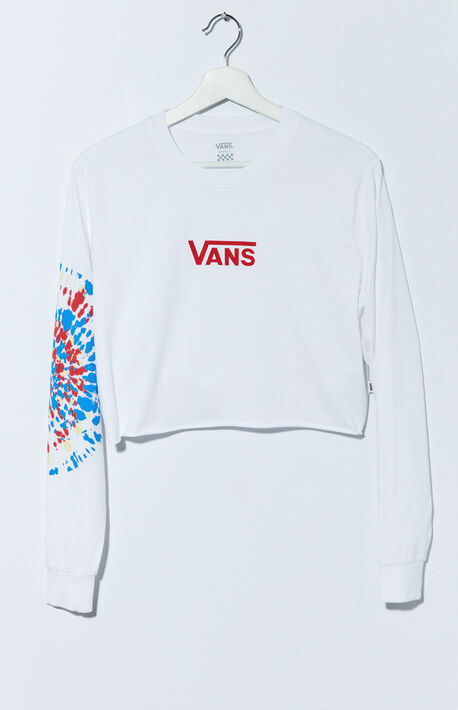 Tie-Dyed Peace Long Sleeve T-Shirt