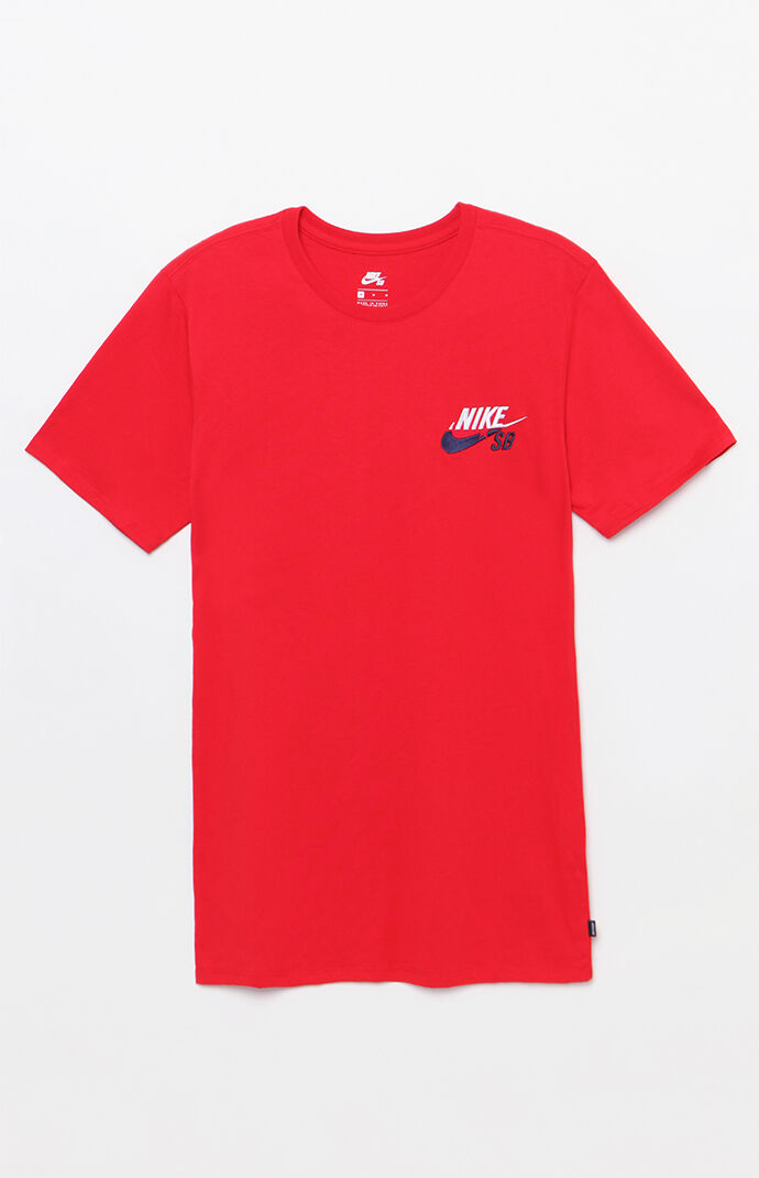 Nike SB Futura T-Shirt - White/red/navy 6845804