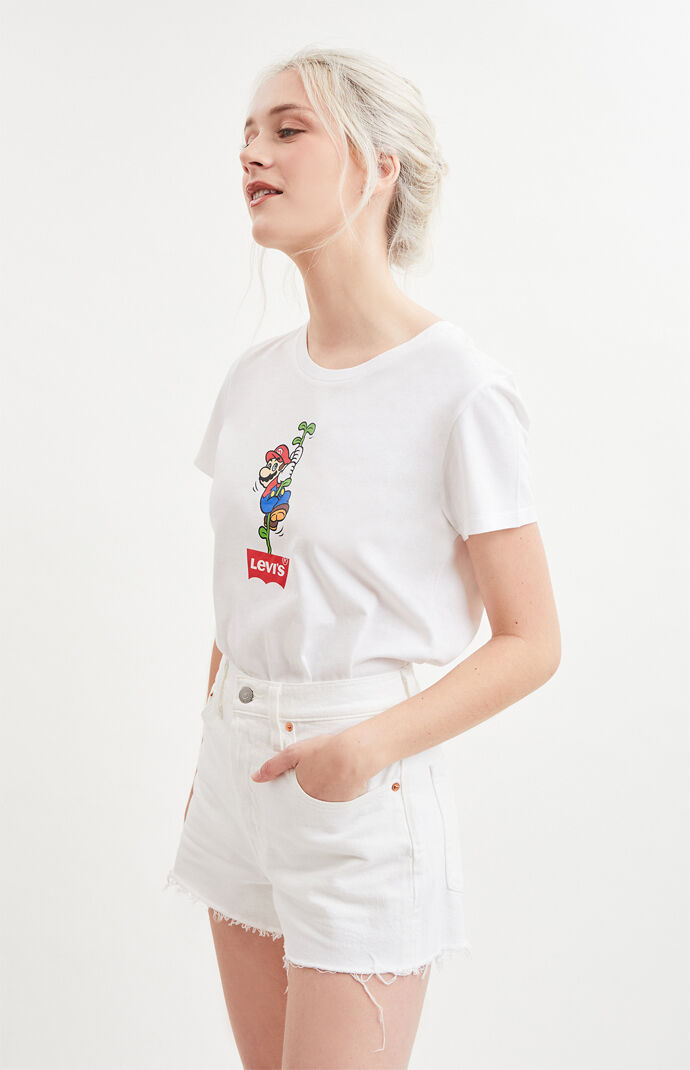 x Super Mario Bros The Perfect Mario T-Shirt