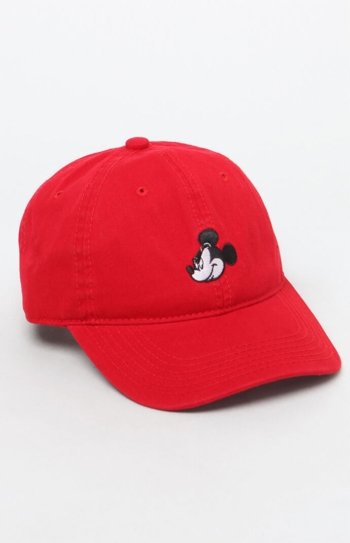 5b961242db3 PacSun Mickey Mouse Strapback Dad Hat