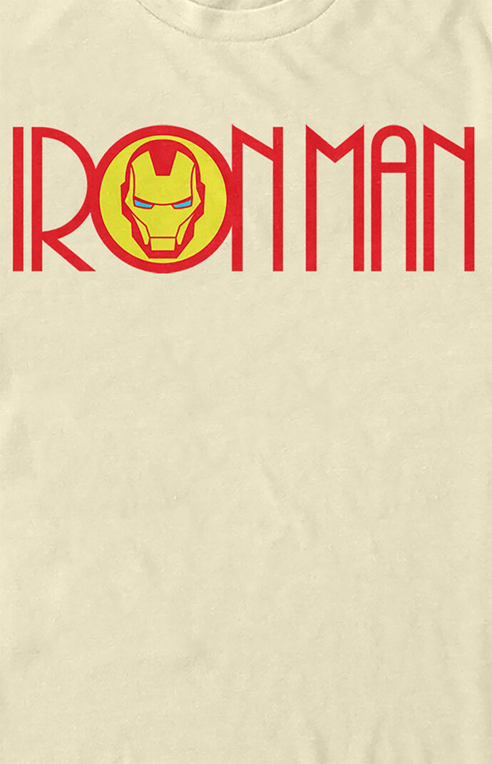 Iron Man Mask Logo T-Shirt