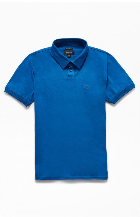 Blue Carlos Polo Shirt
