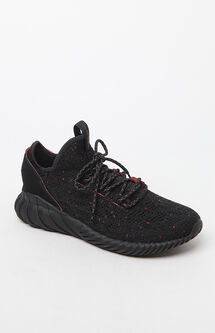Tubular Doom Sock Primeknit Black Shoes