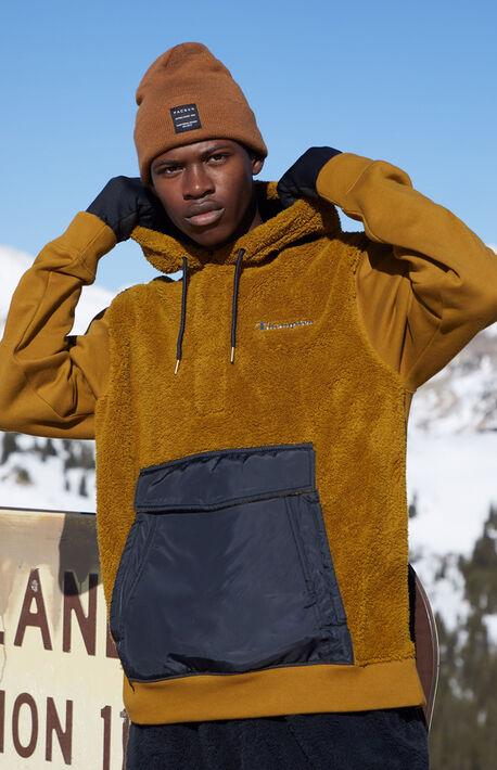 Sherpa Panel Hoodie