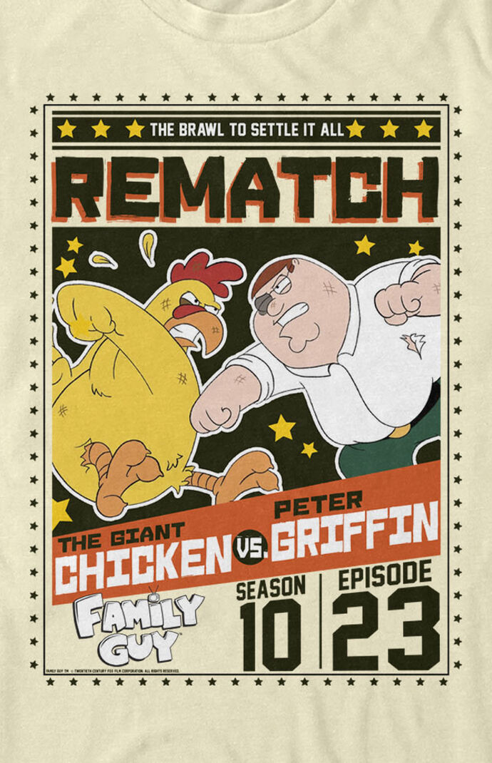 Peter vs. Chicken Family Guy T-Shirt