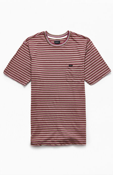 Downline Striped Pocket T-Shirt