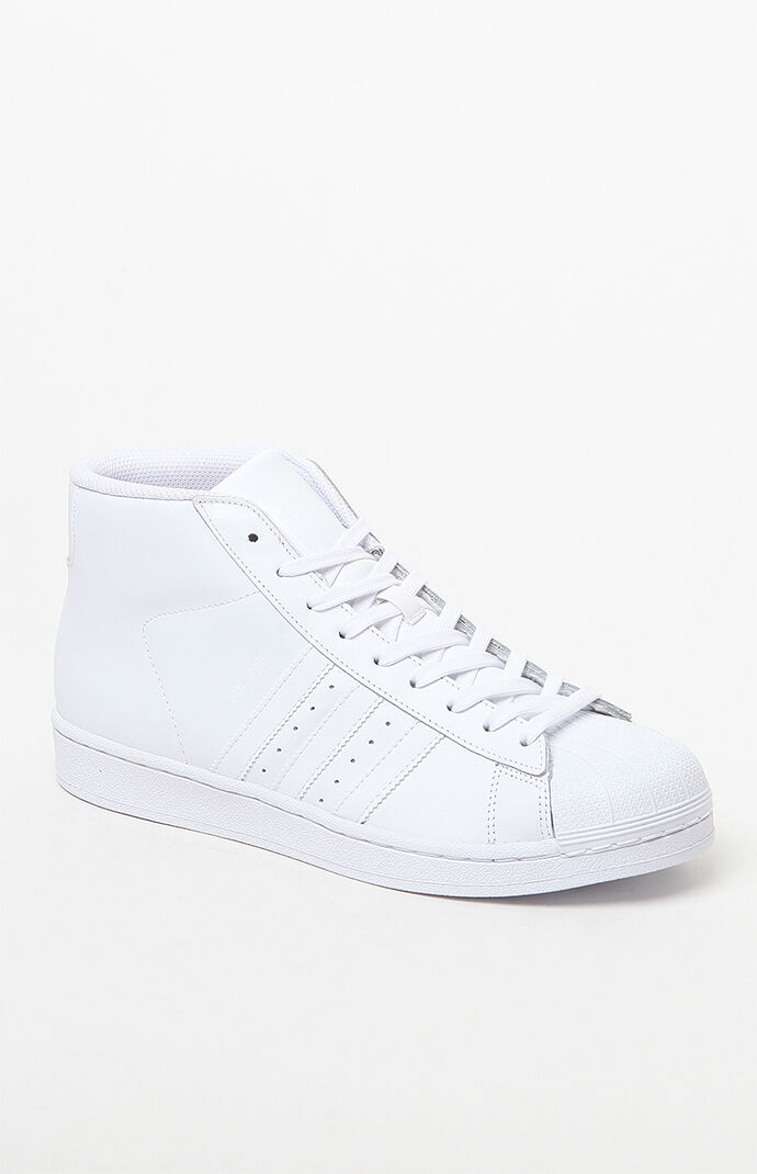 adidas Pro Model White Shoes - White/white 5893391