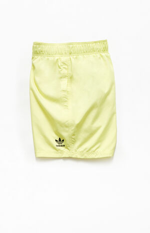Yellow Essentials Hybrid Shorts image number null