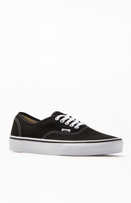 Authentic Black & White Shoes