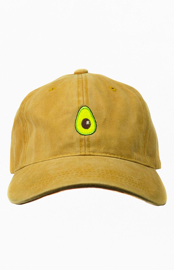 Mustard Avocado Dad Hat