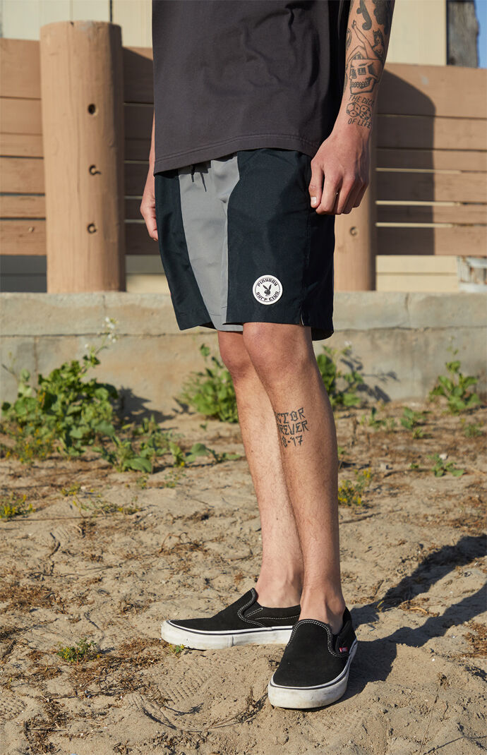 "By PacSun Shore Break 17"" Swim Trunks"
