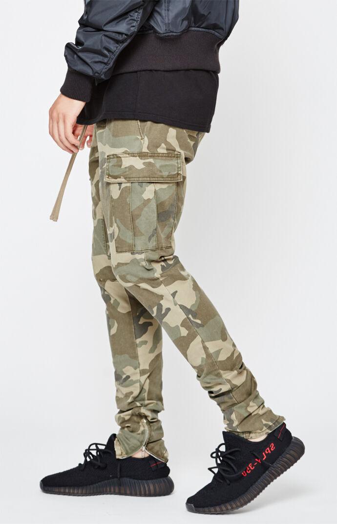 a6027e7f673f PacSun Drop Skinny Cargo Jogger Pants