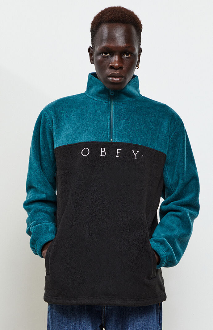 Obey Channel Mock Neck Pullover by Pacsun