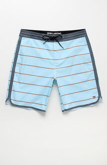 "73 Lo Tides Striped 19"" Boardshorts"