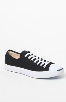 Jack Purcell Canvas Black & White Shoes