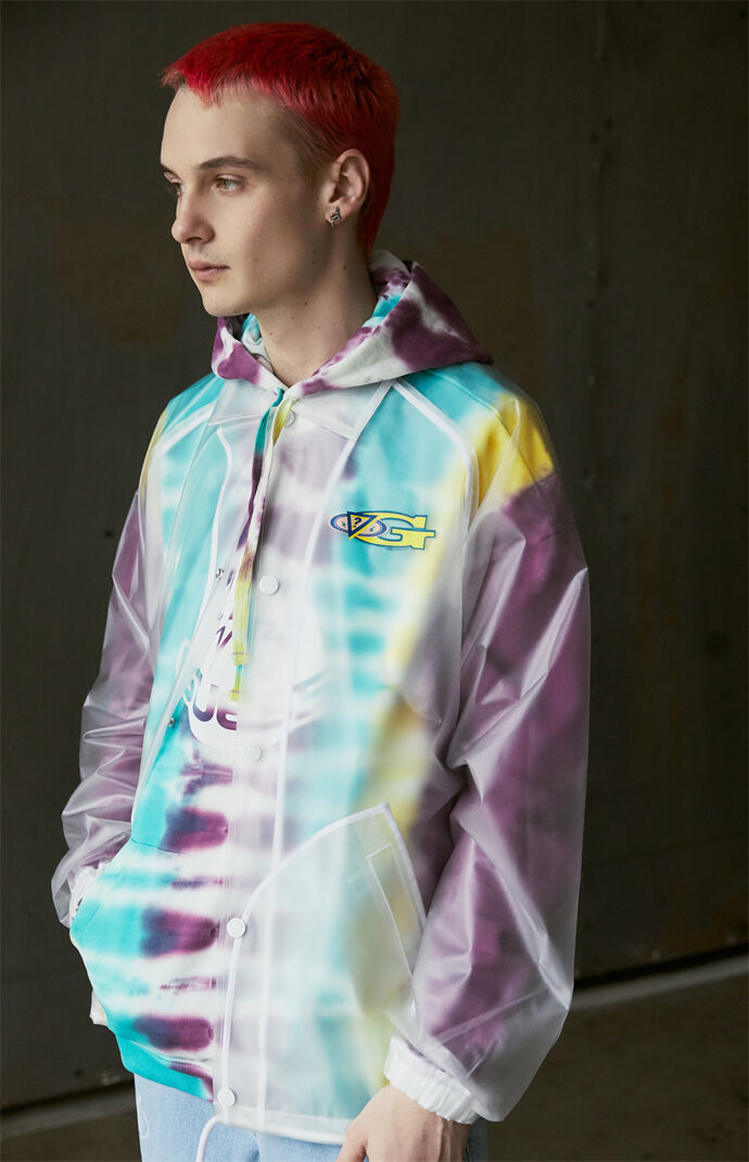 x J Balvin Clear Coach Jacket
