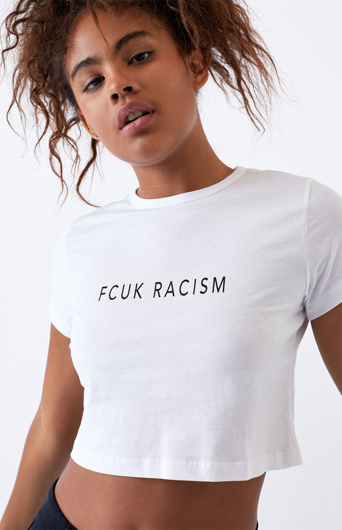 Racism Crop T-Shirt