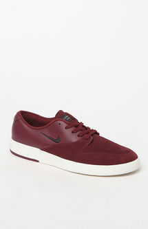 Zoom Paul Rodriguez Ten Red & Black Shoes