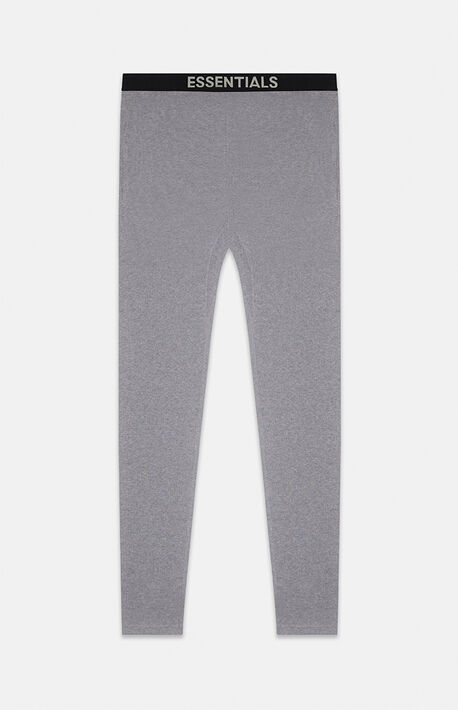 Essentials Dark Grey Heather Thermal Pants