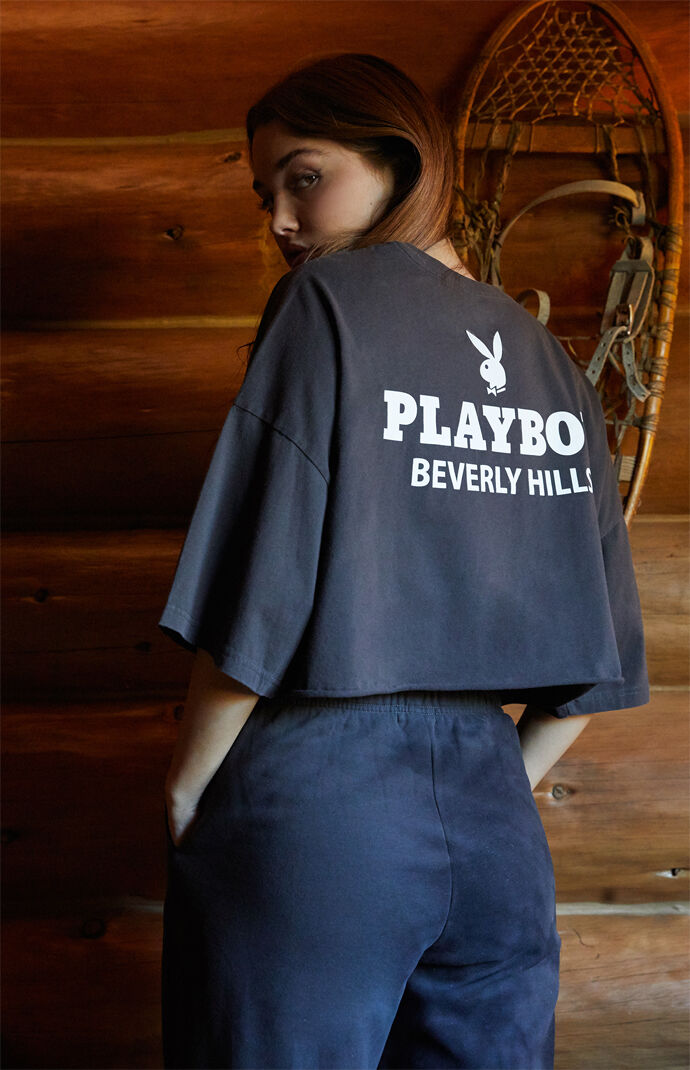 By PacSun Beverly Hills Boyfriend Cropped T-Shirt