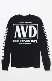 A/V Dept. Cassette Long Sleeve T-Shirt