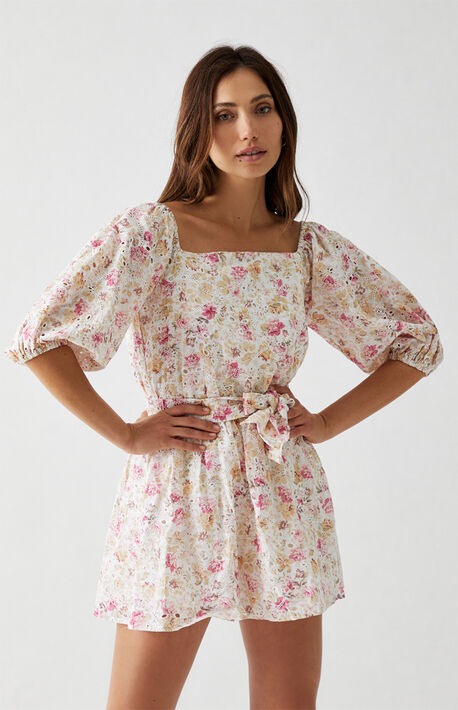 Cecile Off-The-Shoulder Mini Dress