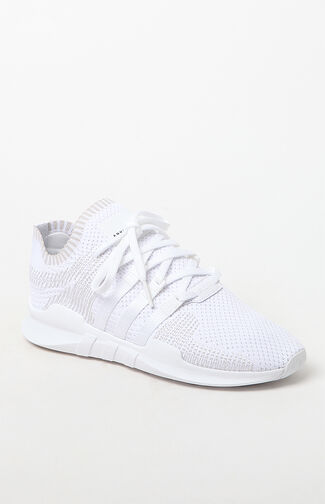 EQT Support Adv Primeknit White Shoes