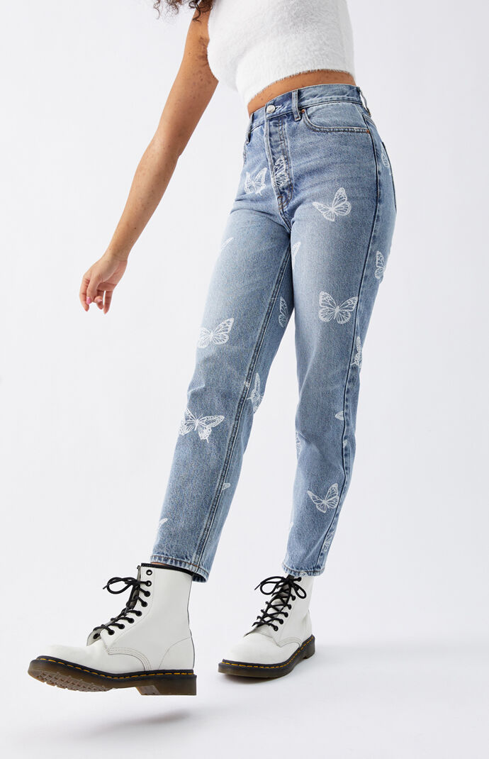 Butterfly Ultra High Waisted Slim Fit Jeans