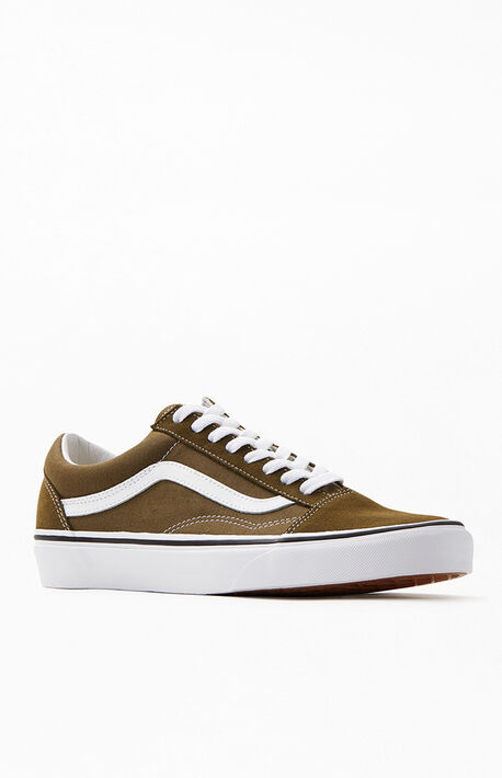 cc52d7747 Olive Old Skool Shoes