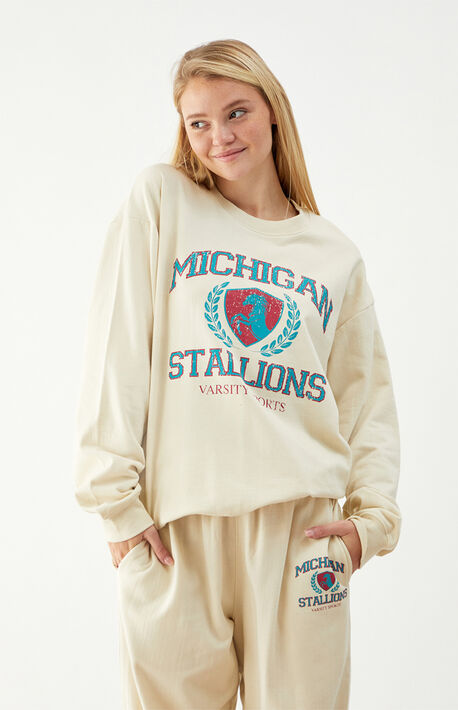 Michigan Stallions Crew Neck Sweatshirt