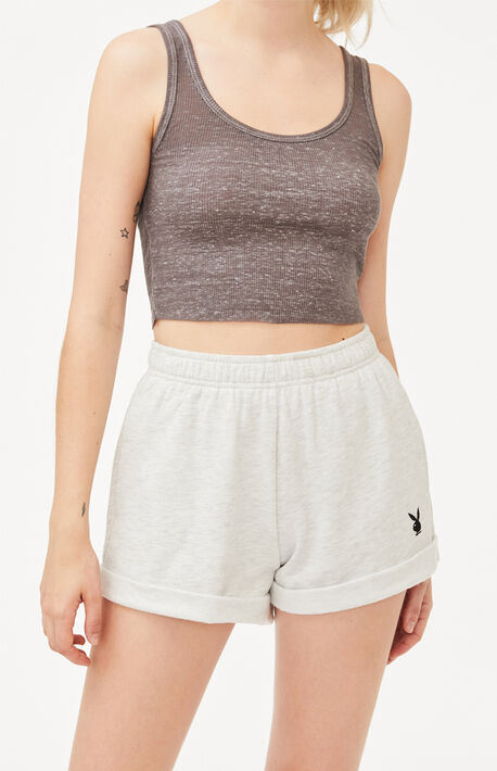 By PacSun Bunny Rolled Shorts