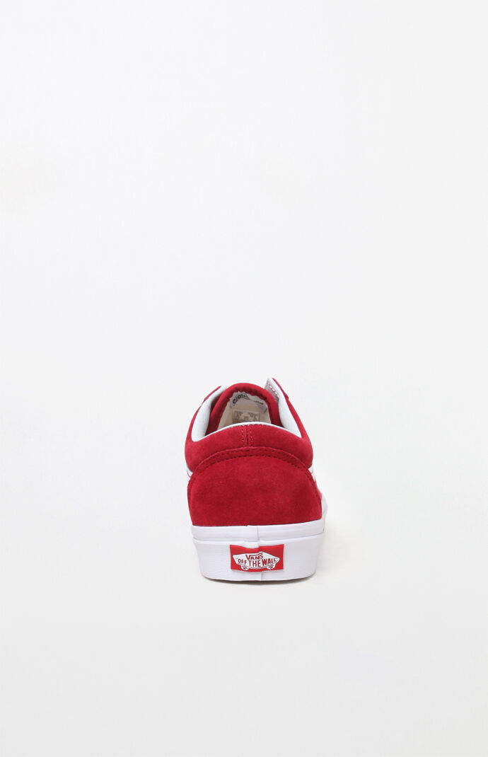 Red Old Skool Sneakers