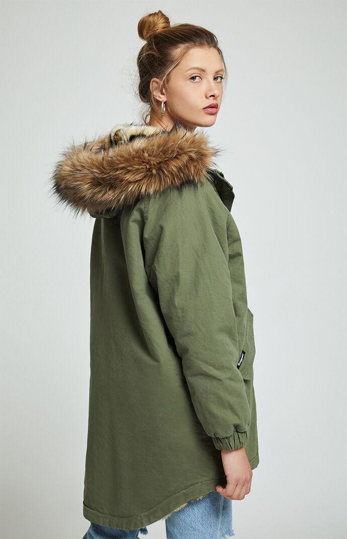 Superdry Lucy Rookie Parka Jacket PacSun  PacSun