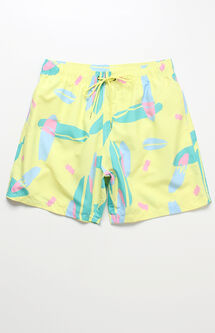 "Ludo Volley 16"" Swim Trunks"