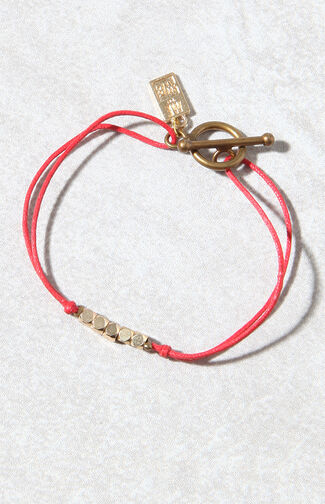 Brass & Thread Bracelet
