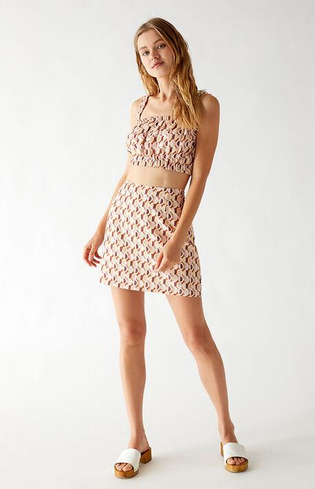 Mosaic Mini Skirt