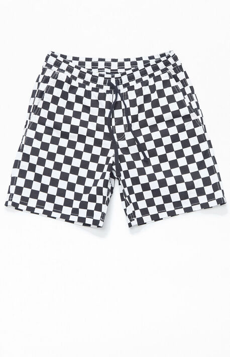 Checker Range Drawstring Shorts