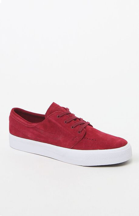 11c8c9eee4 Zoom Stefan Janoski Premium High Tape Red Shoes · Nike SB ...
