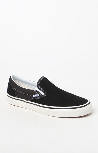 Anaheim Factory Slip-On 98 DX Black Shoes