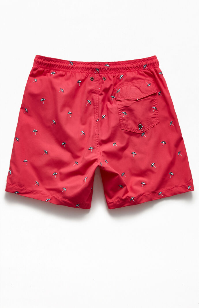 "Beach Umbrella 16"" Swim Trunks"