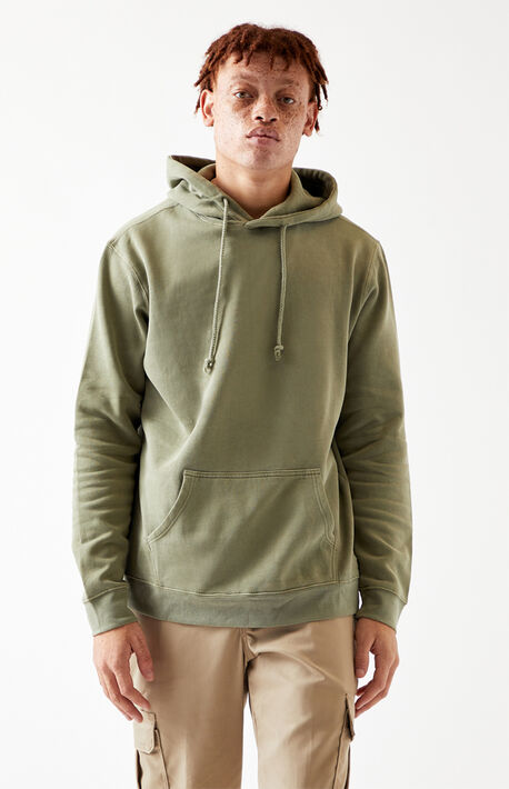Olive Inland Oversized Hoodie