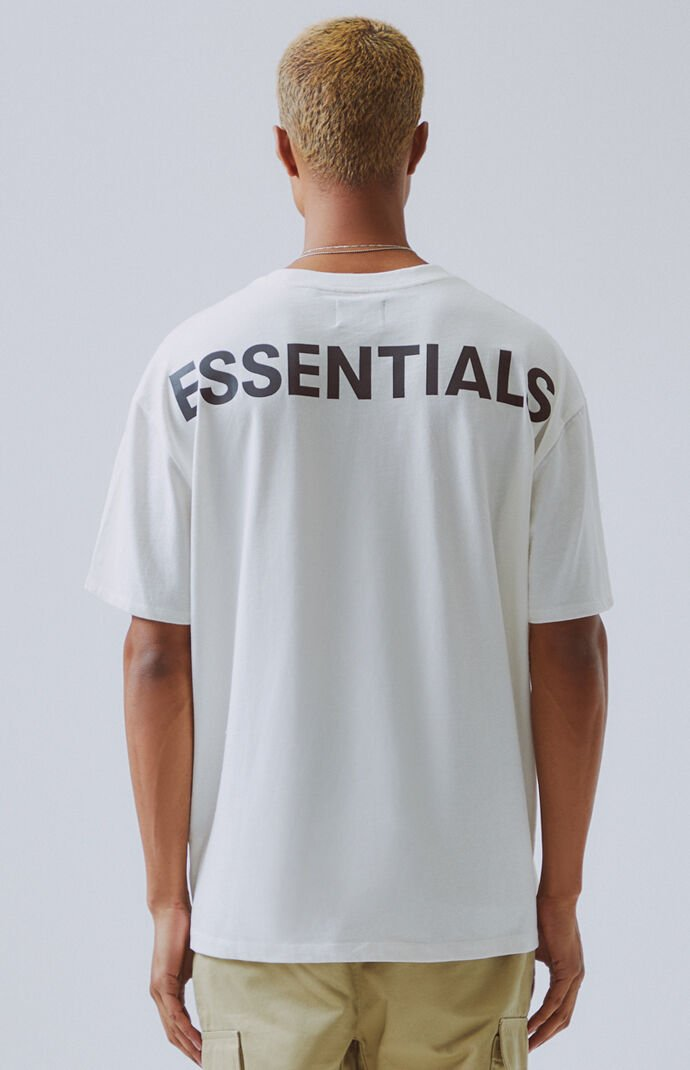 Fog Fear Of God Essentials Boxy T Shirt At Pacsun Com