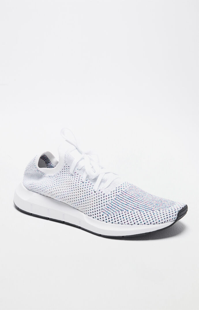 e100caa55ef93 adidas Swift Run Primeknit White Multi Shoes at PacSun.com