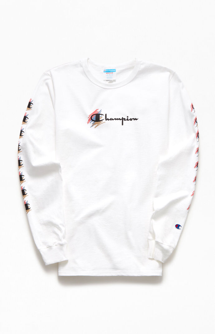 Scribble Long Sleeve T-Shirt